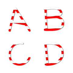 English uppercase 1 - candy young
