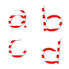 English lowercase 1 - candy young