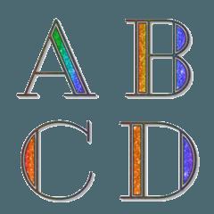 Rainbow Glitter Emoji