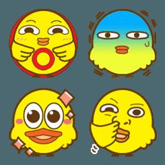 黄色い鳥のたくちゃん絵文字