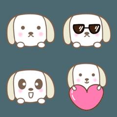 大人かわいいイヌの絵文字 dog emoji