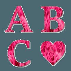 pink rose emoji