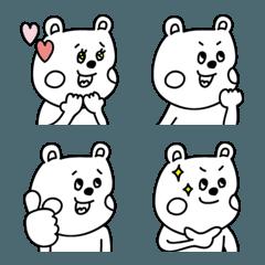 ラクガキ調☆くまカップル3