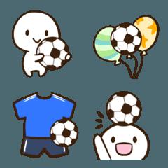 サッカーの絵文字2