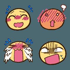 段階的な表情