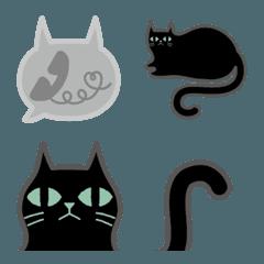 猫好きのための⭐️黒ねこ絵文字