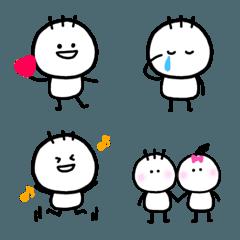 シンプルで使いやすいゆるかわ絵文字(3)