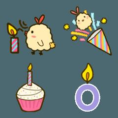 Fried shrimp chicken -birthday festival
