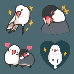 ラクガキ動物園9【文鳥2】