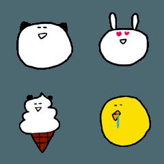 ゆるい動物たちの絵文字3