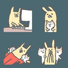 おかしなウサギ