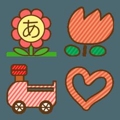お花の絵文字