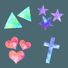 ♥宇宙柄×幾何学模様♥