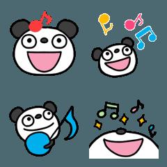 ふんわかパンダ3 音符絵文字