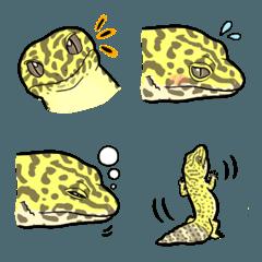 爬虫類さんたち〜レオパ〜ハイイエロー