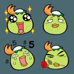 Kapa kapook Emoji so cute
