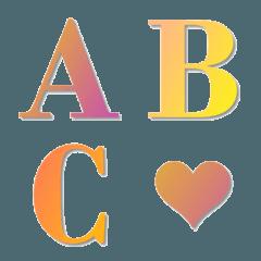 Simple Gradation Emoji