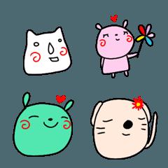 【ラクガキ】動物絵文字