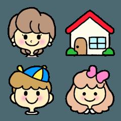 家族❤️絵文字