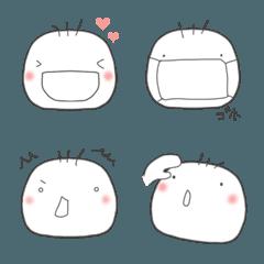 ふわり♡つかえる顔絵文字2