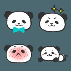 お茶目なパンダさんの絵文字 2