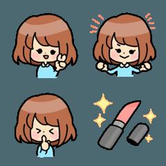 使いやすい女の子絵文字