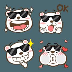 What's up! Bear Emoji so cute Vol.2