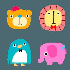 かわいい動物絵文字(1)