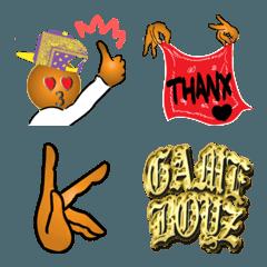 GAMEBOYZ X6 emoji ver.