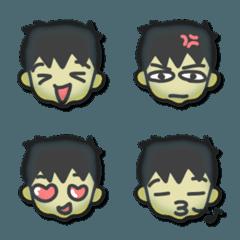 YSカオエモジ 男の子 01