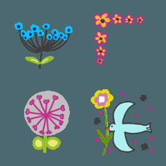 マリン55♡ お花で絵文字
