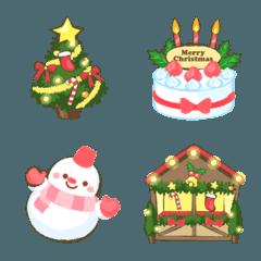 優しいクリスマスの絵文字