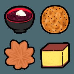 食べ物 絵文字 《 はらぺこスイーツ2 》
