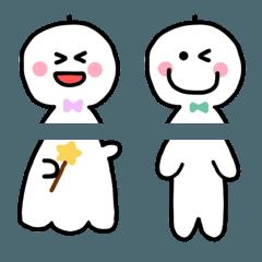晴れやかに❤️てるてる坊主&人間の絵文字