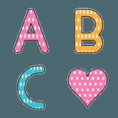 A Polka Dot Pattern Emoji