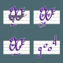 奏でる手書き絵文字 No.2