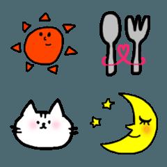猫と日常よく使う絵文字