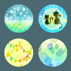 水彩画テイスト