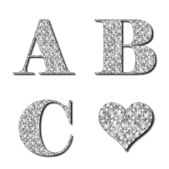 Rhinestone Emoji