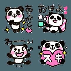 喋る★パンダの絵文字