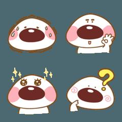 Red bean mochi-emoji