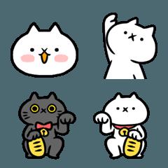 【絵文字】吾輩は猫です。