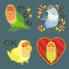 ラクガキ動物園12 【コザクラインコ2】