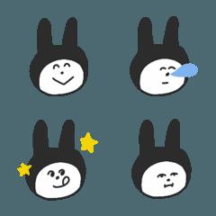 ウサギのようでウサギじゃない絵文字♡