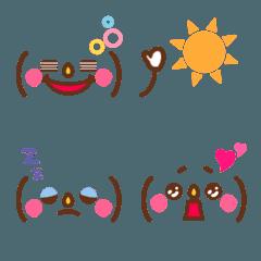 毎日使える表情豊かな顔文字7