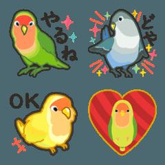 ラクガキ動物園12【コザクラインコ2】
