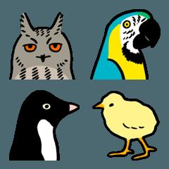 鳥が好き絵文字