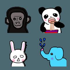 動物園の絵文字