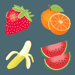 かわいいフルーツ絵文字