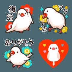 ラクガキ動物園14【文鳥3】